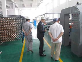 中国国内某中日合资化工企业客户来厂视察
